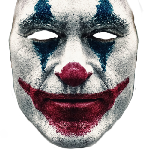 Largest Collection Of Free To Edit Joker Face Stickers On