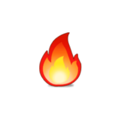 fire blow emoji stickers hot freetoedit