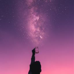 freetoedit sky skylover stars silhouette