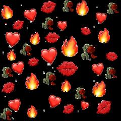 emoji background red freetoedit