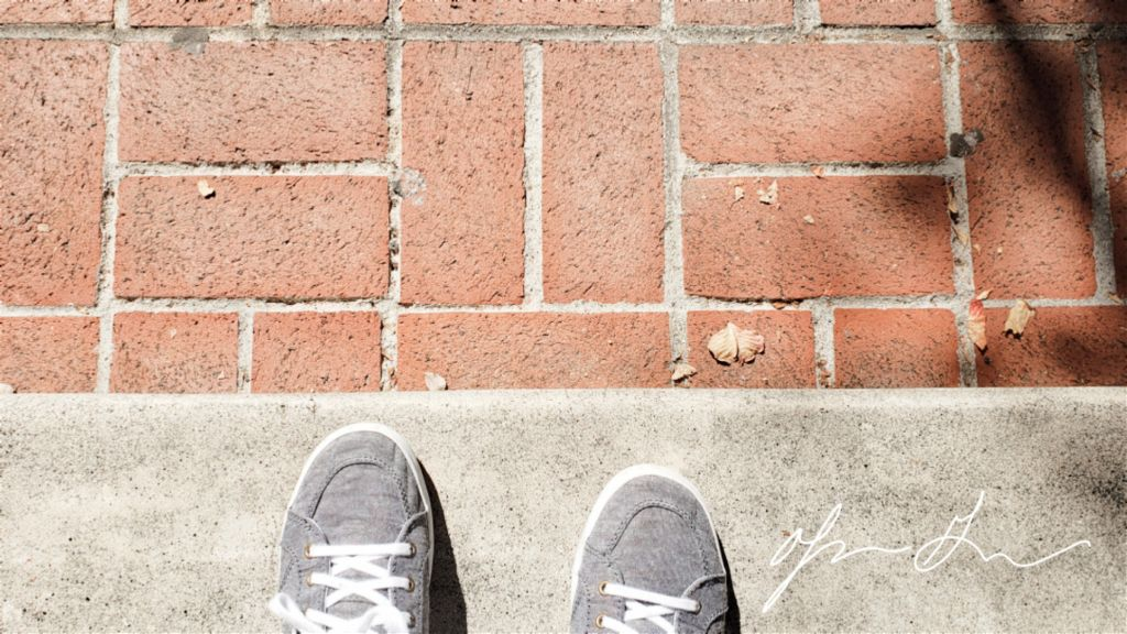 Shoes & Bricks #perspective
