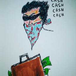 freetoedit streetart face man money