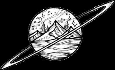 planet mountain winter ring draw freetoedit scplanetstickers