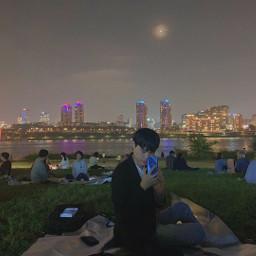 korea seoul night freetoedit