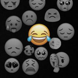 freetoedit sad iphone emoji iphoneemojis