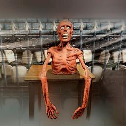 freetoedit scary spooky halloween zombie