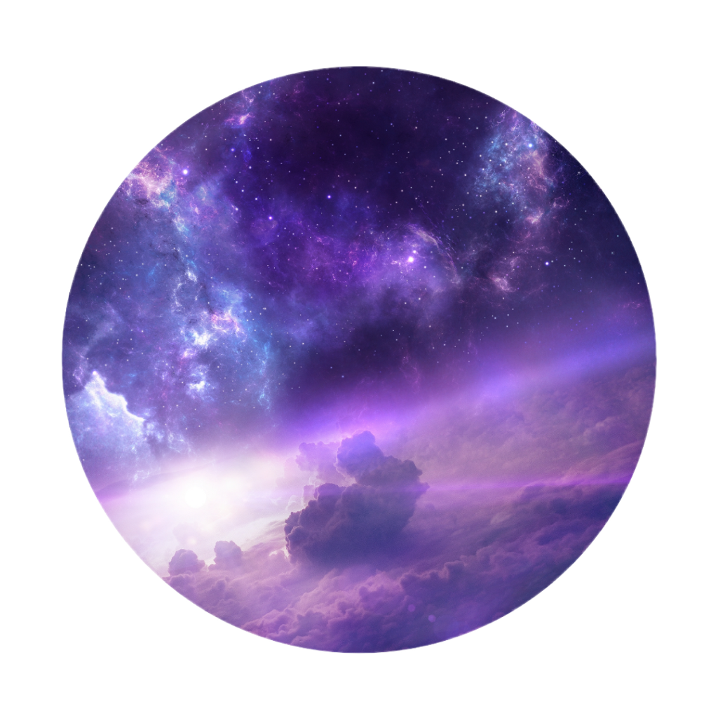 #freetoedit #purple #clouds #stars #sky #background #overlay #circle
