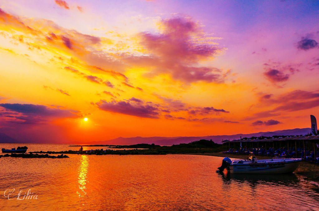 #sunset #sea #colorful #nature #landscape #naturephotography #landscapephotography #seaphotography #seascape #sunsetphotography