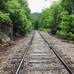 pcroads roads railroad train tracks scenery freetoedit
