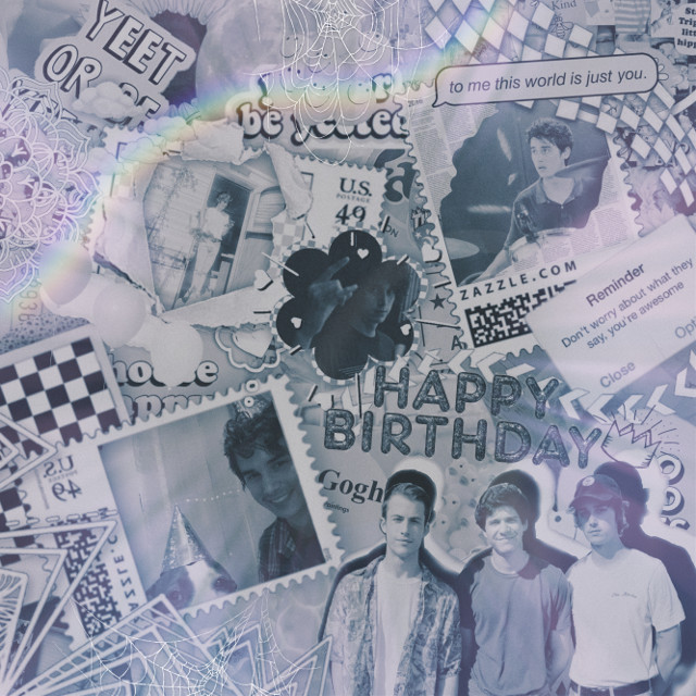 HAPPY BIRTHDAY COLE!!!            #wallows #colepreston #birthday #happybirthday #bands #bandmembers  #freetoedit