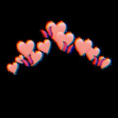 love kalp glitch red spiral freetoedit