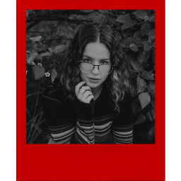 girl polaroid red redpolaroid story freetoedit
