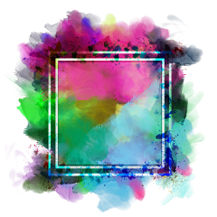 ftestickers watercolor background frame abstract freetoedit