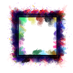 ftestickers background frame smoke holographic freetoedit