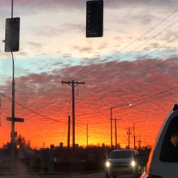 7 roads sunset killersunset cars pcroads pcmyhometown freetoedit