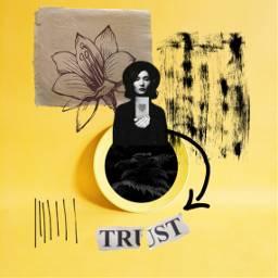 freetoedit yellow narcissus womanportrait trust ircsimplyyellow