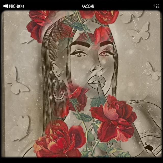 #oldwest #girl #roses  #freetoedit