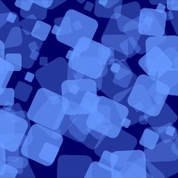 background blue squares round dark freetoedit