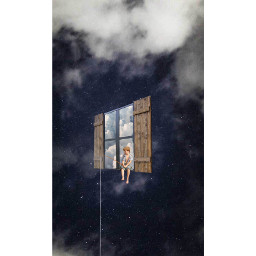 freetoedit edit wallpaper sky night