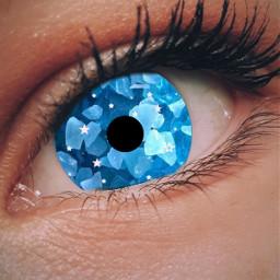 crystal eye uniqueart freetoedit