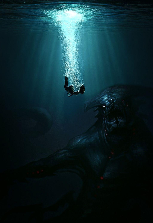 #freetoedit #kraken #monster #water #ocean #scary #legend #picsart #edit @picsart