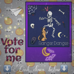 voteme voteplease gsd gsdlove cartoon schalloweenskeletons scary freetoedit