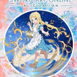 freetoedit sword_art_online swordartonlinealicization alice animegirl