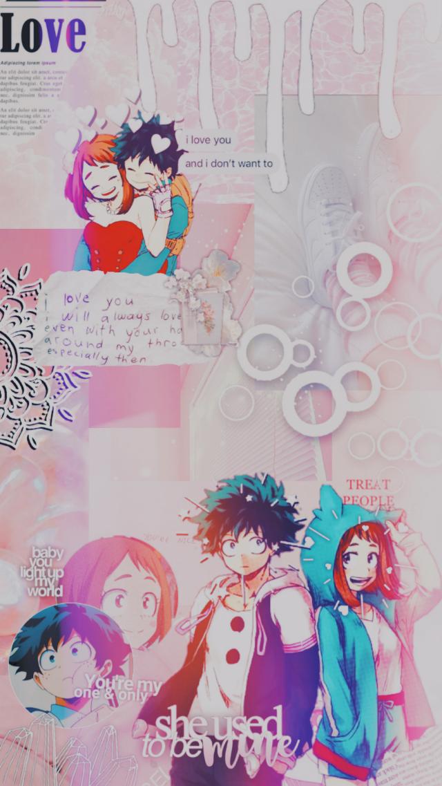 #izuocha #freetoedit #myheroacademia #bokunoheroacademia #mha #bnha #anime #midoriya #deku #midoriyaizuku #urarakaochaco #uraraka #ship #cute #pinkaesthetic #pink