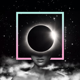 madewithpicsart surreal be extraterrestrial outerspace eclipse