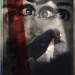 babelart surrealism darkart artistselfie raven freetoedit