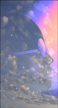 surrealism surrealistic doubleexposure freesticker freetoedit
