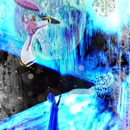 freetoedit remix dancer moon arrow