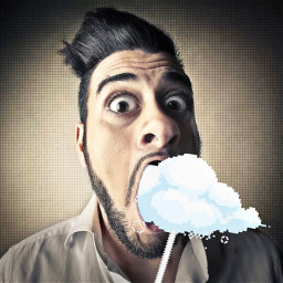 freetoedit openmouth mouth eating eat srcclouds