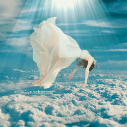 freetoedit remixit clouds levitation surreal