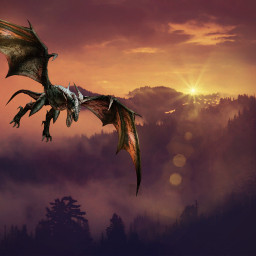 freetoedit mystical nature dragon background
