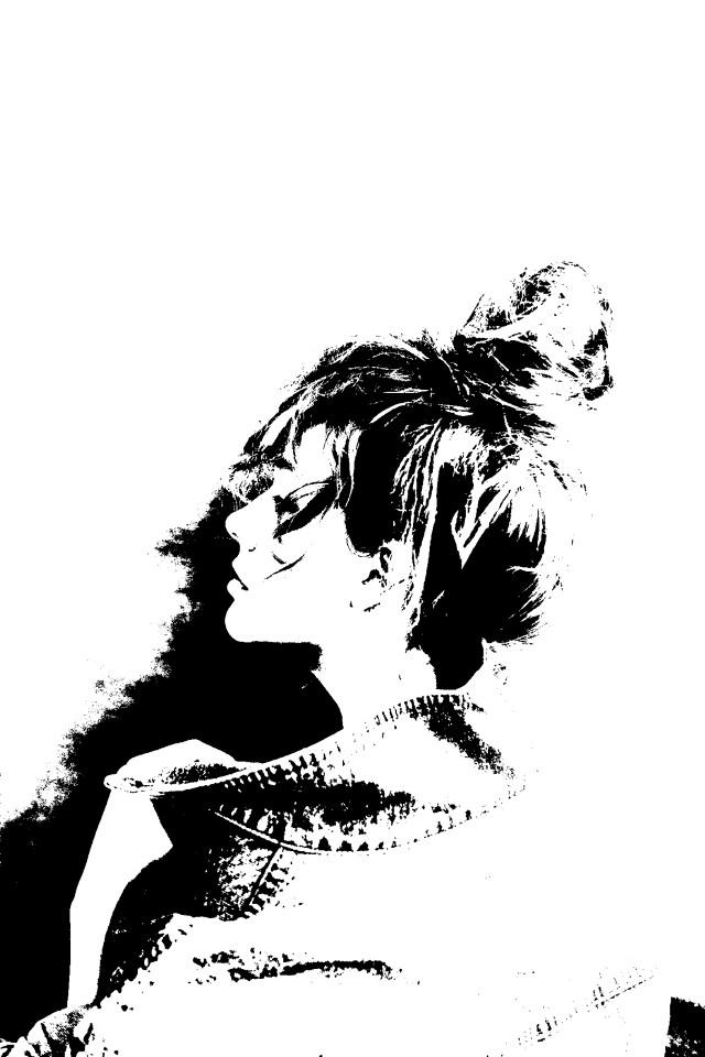 #freetoedit #portrait #blackandwhiteeffect #minimalistic #myedit