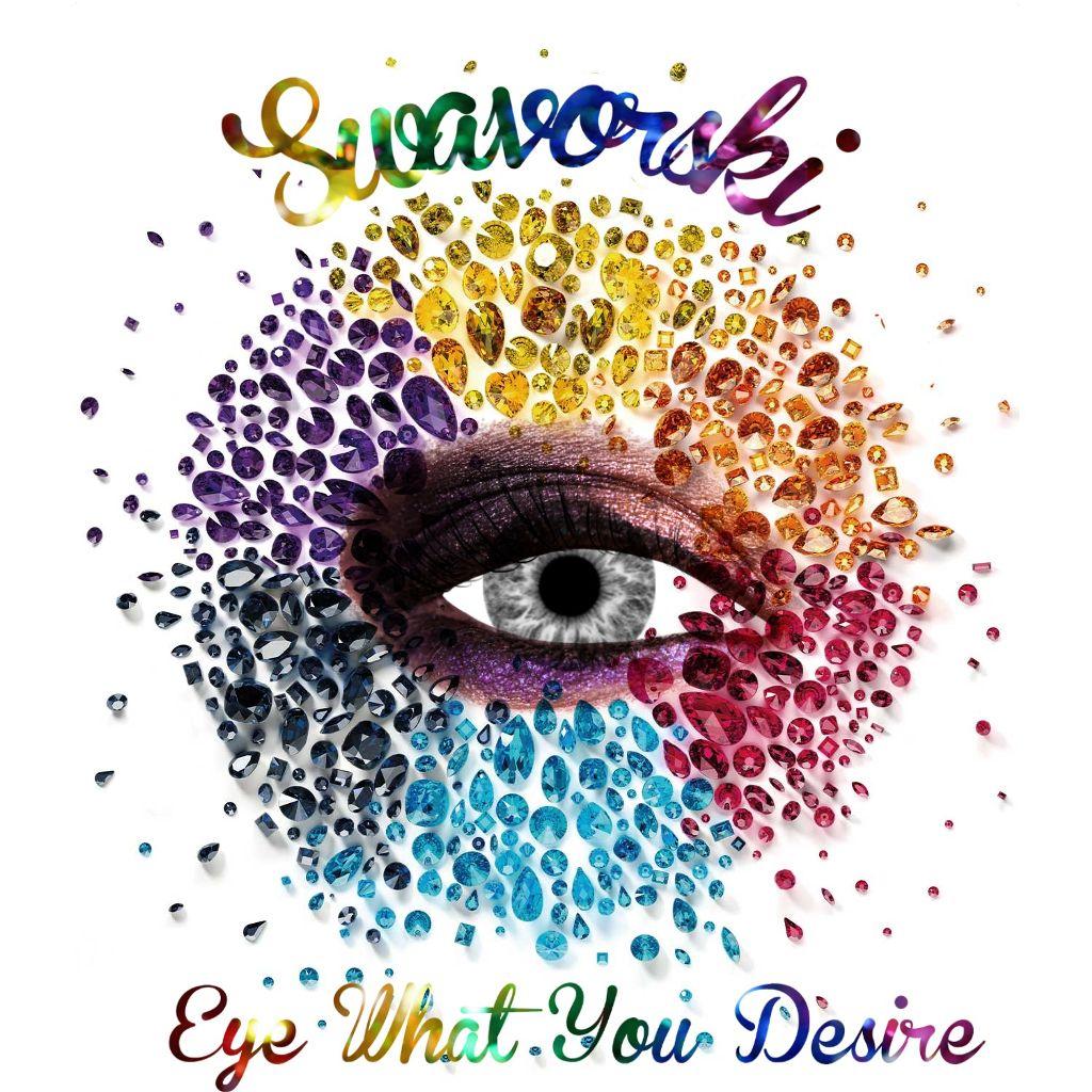 #freetoedit #swavorski #eye #desire #crystals