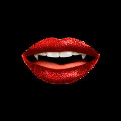 freetoedit lips vampire halloween blood