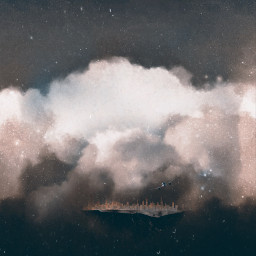 lynnbrewer madewithpicsart clouds interesting surreal freetoedit