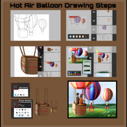 nofeature drawstepbystep dchotairballoon hotairballon mydrawing freetoedit