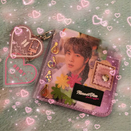 bts purple aesthetic almostblue wallet