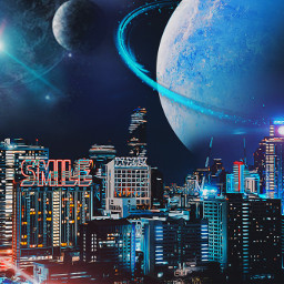 freetoedit picoftheday future city midnight ircurbannight