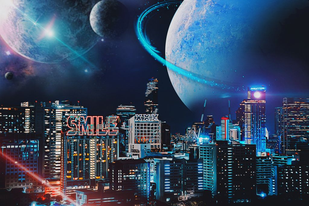 #freetoedit #picoftheday #future #city #midnight #space #plant #neon #cool #like #follow #fotoedit #sky