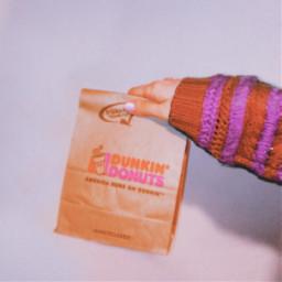 myphoto dunkindonuts doughnut food sweets freetoedit