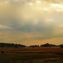campo nubes provincia naturaleza nature