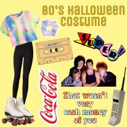 freetoedit costume halloween halloweencostume 80's scrunchie