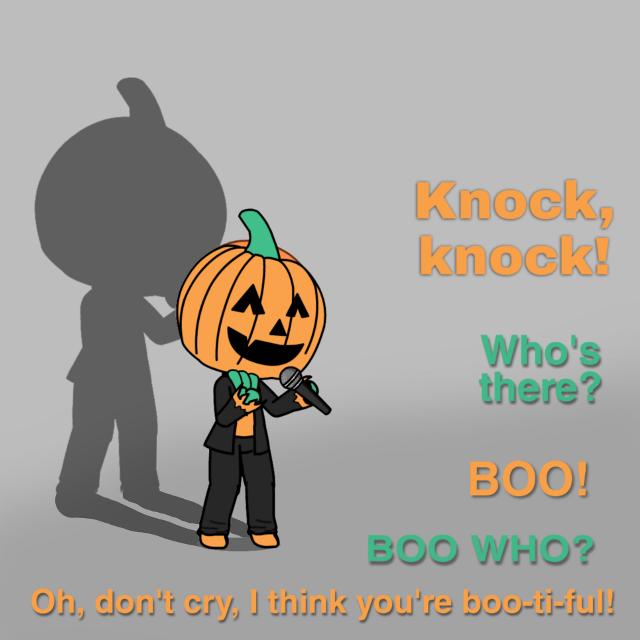 #freetoedit #halloween #cute #humor #knockknock