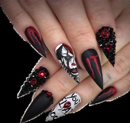 fingers hands nails fingernails sharp freetoedit