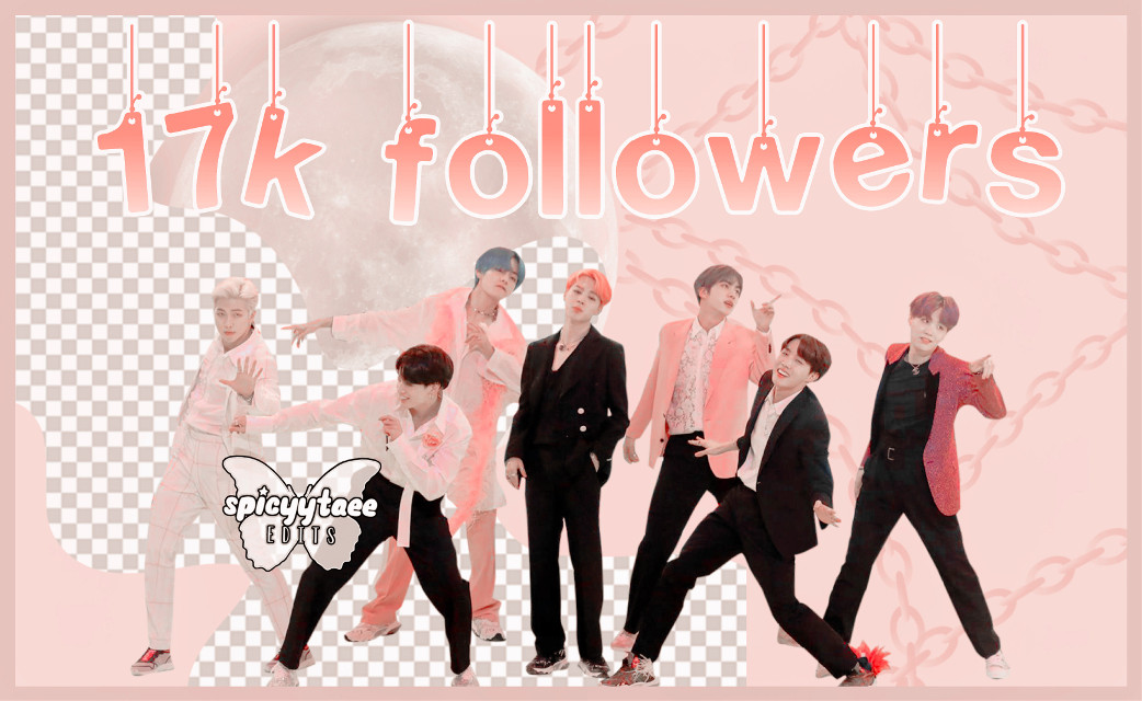 17k followers now skskssk Thank uuuu I made this on the bus so its kinda bad, sorry My class is about to start im typing as fast as i can smksksks Thanks to everyone who supports my acc I love you my fairies :3 Thank uu
