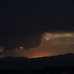 tormenta storm atardeceres atardecer sunset